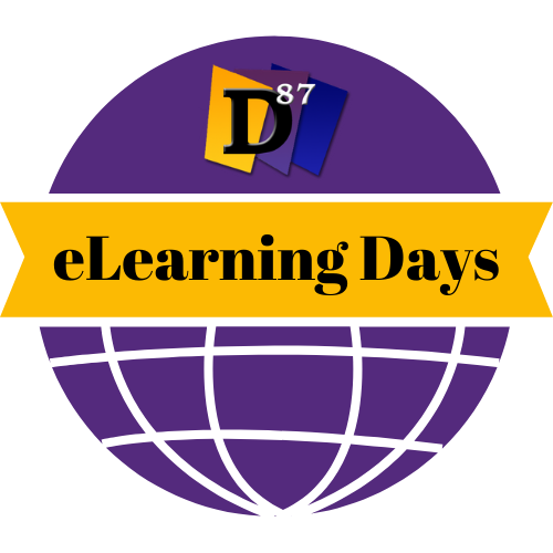 District 87 eLearning Days logo