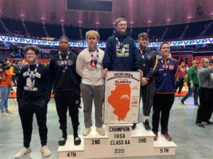 Jon Brown takes 4th place at wrestling State Finals