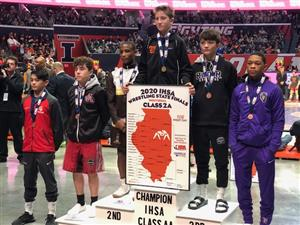 Carson Nishida takes 3rd in wrestling State Finals