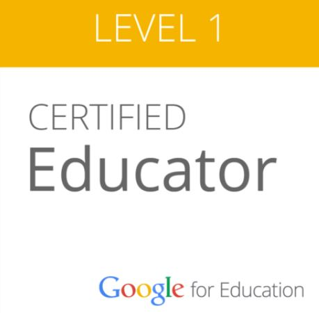 Level 1 Google Badge