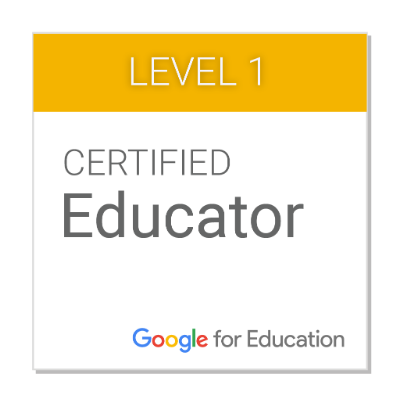 Google Educator Level 1 Certification